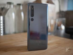 Le dos du Xiaomi Mi 10