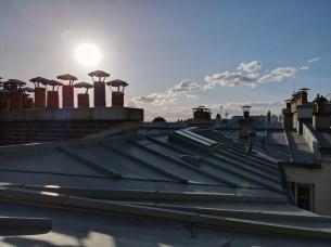 Photo des toits avec le mode SmartPhoto