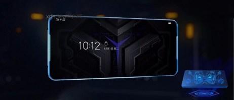 L'écran du smartphone Lenovo Legion