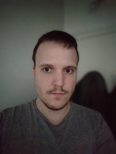 Mode portrait du Motorola Edge