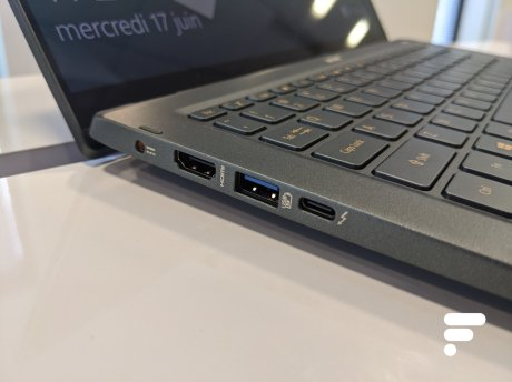 Acer Swift 5 Prise en main 2020 (12)