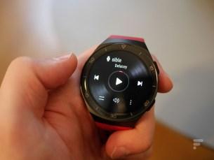 Le lecteur de musique de la Huawei Watch GT 2e
