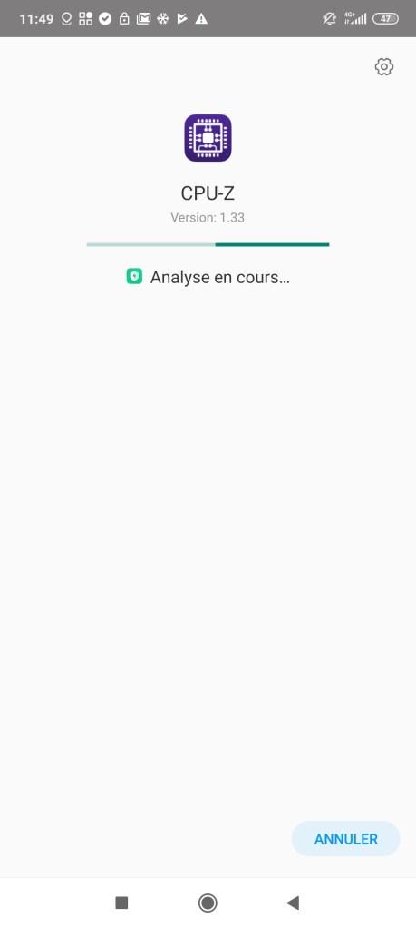 Scan antivirus Xiaomi Poco F2 Pro