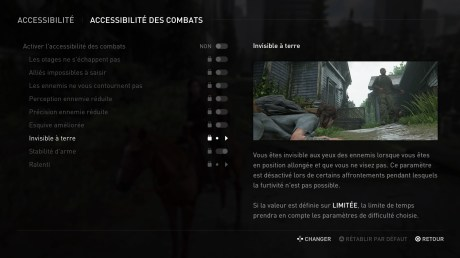 L'aide au combat dans The Last of Us Part 2