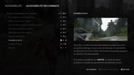 L'aide au combat dans The Last of Us Part 2