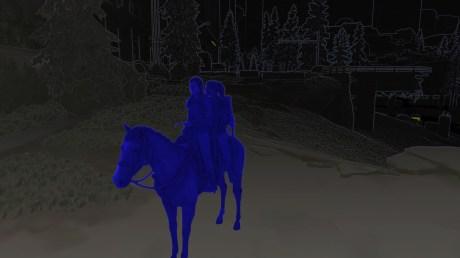 L'aide visuelle dans The Last of Us Part 2