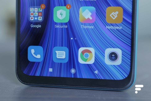 Bas du Xiaomi Redmi Note 9
