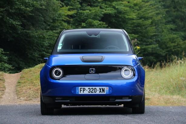 La Honda e // Source: Yann Lethuillier pour Frandroid