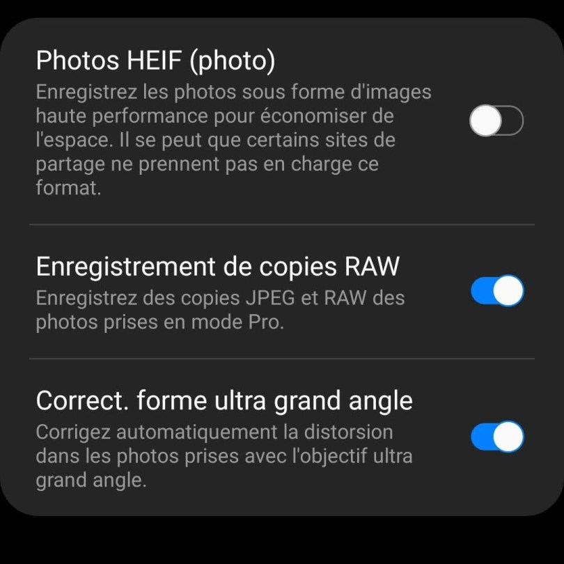 Pourquoi utiliser le format RAW ?