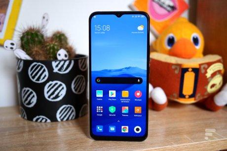 Xiaomi Mi 10 Lite 5G de face
