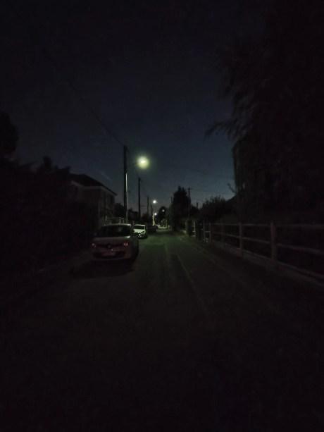 Photo en mode nuit du Realme X50, ultra grand-angle