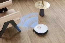 Le robot nettoyeur Deebot Ozmo T8 // Source : Ecovacs