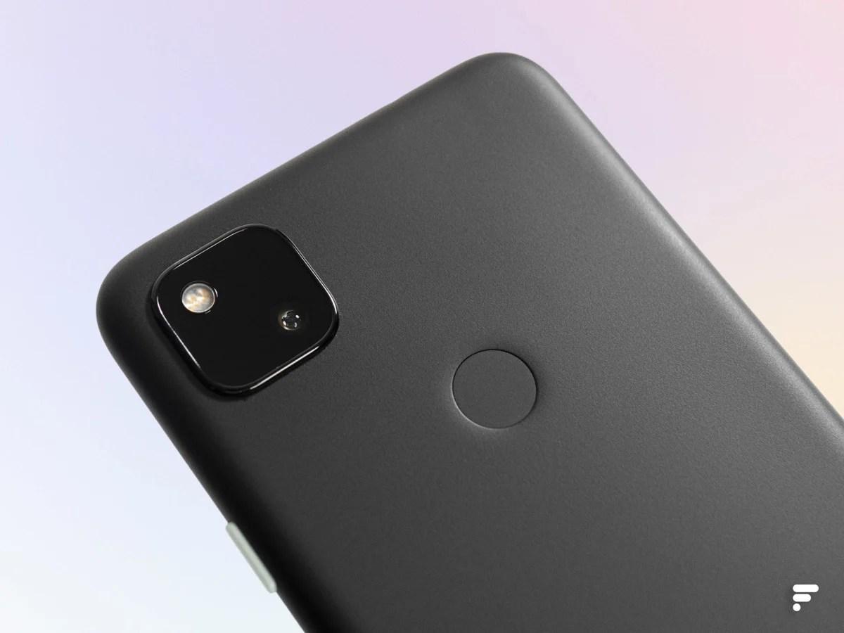 Google Pixel 4a square photo module