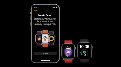 Apple configuration famille apple watch