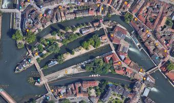 Carte-Satelitte-Petite-France-Strasbourg