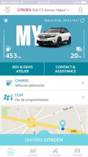 My Citroën - 1 - Accueil
