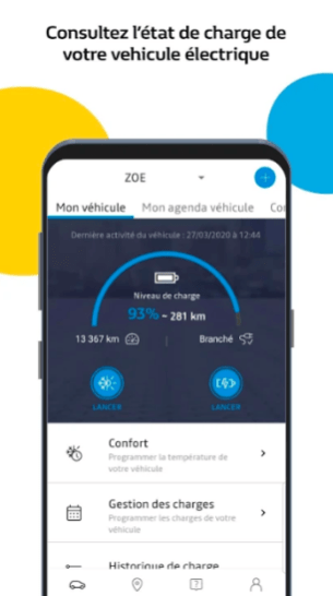 Application MY Renault