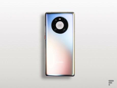 Face arrière du Huawei Mate 40 Pro