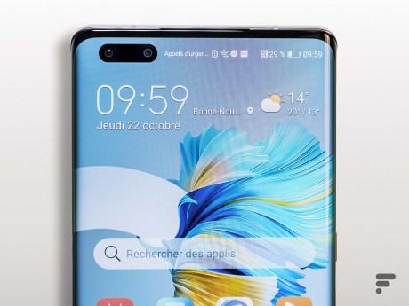 Écran du Huawei Mate 40 Pro
