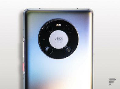 Appareil photo du Huawei Mate 40 Pro
