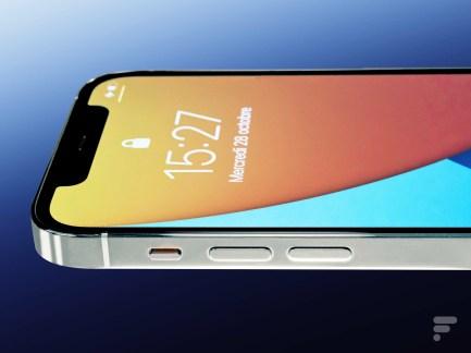 La tranche de l'iPhone 12 Pro
