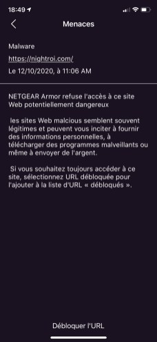 Netgear RAX200 - Armor 3
