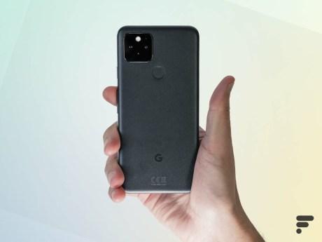 Le Pixel 5 a un format compact