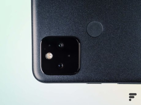 Le module photo du Pixel 5