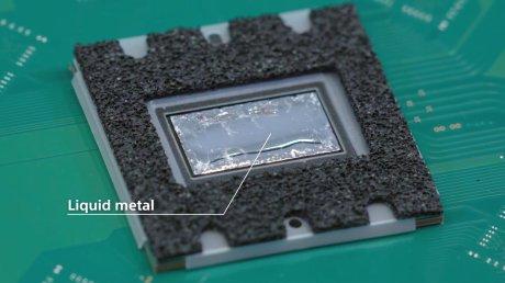 PS5 teardown SOC Liquid Metal