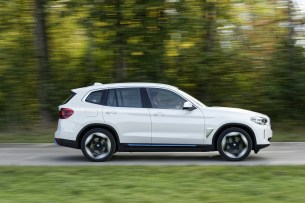 Le BMW iX3 // Source : BMW France