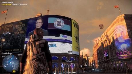 Watch Dogs Legion en version PS4 sur la PS5 // Source : Capture du jeu sur la PS5