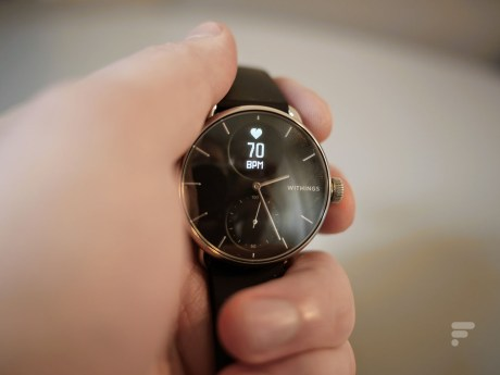 La Withings ScanWatch // Source : Frandroid