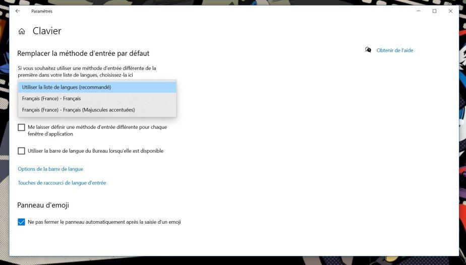 Reemplazar el teclado en Windows 10 (5)