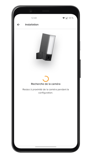 Netatmo Caméra Extérieure Intelligente avec Sirène - Application - Installation (2)