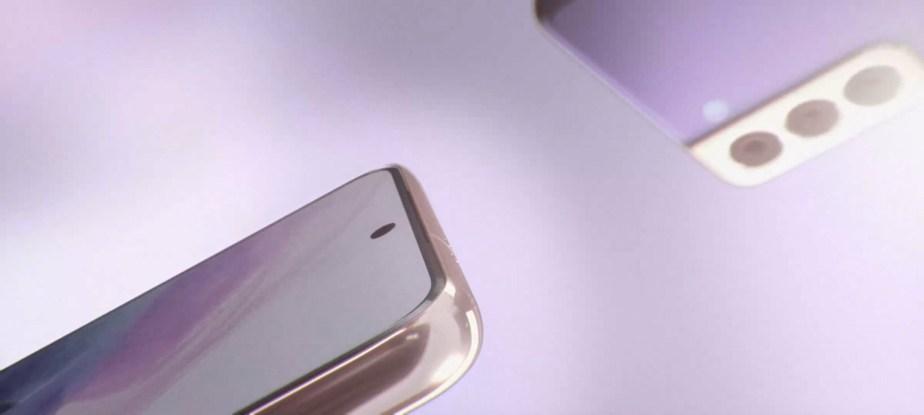 L'écran du Galaxy S21 est plat