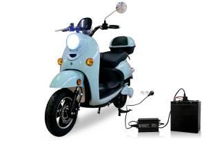 scooter-electrique-sans-permis-adulte-50-pas-cher-bleu-batterie-lithium-amovible-scaled