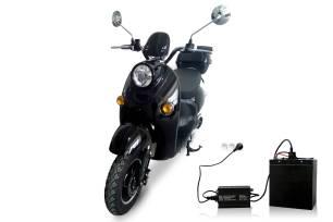 scooter-electrique-sans-permis-adulte-50-pas-cher-noir-batterie-lithium-amovible-scaled