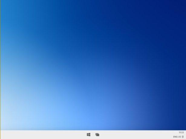 Le bureau de Windows 10X