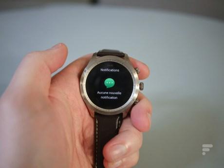 La montre connectée Zepp Z // Source : Frandroid