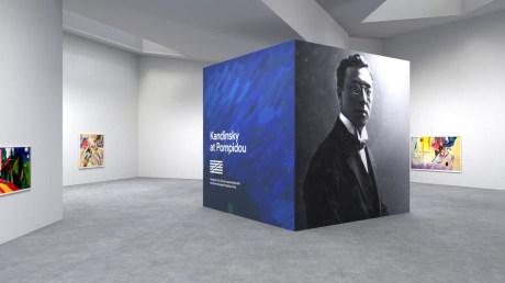 Une exposition en réalité virtuelle permet de mieux comprendre les oeuvres de Kandinsky
