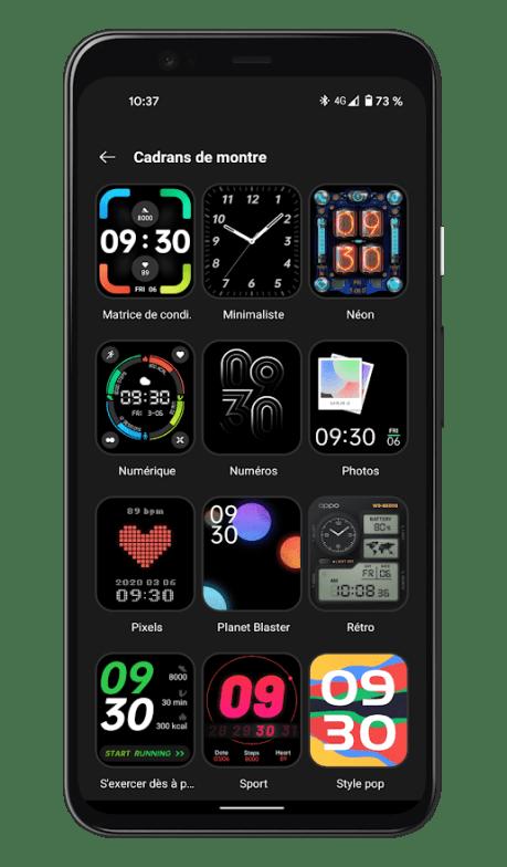 Oppo Watch - Cadrans HeyTap Health (2)