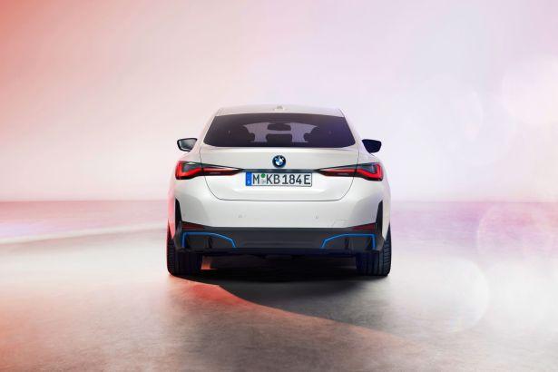 La BMW i4 électrique // Source : BMW