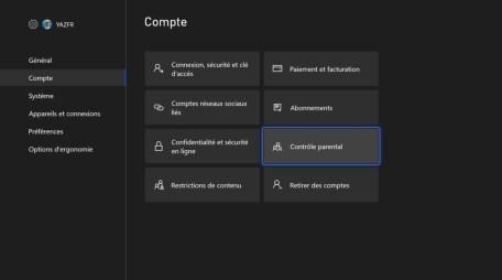 Comment configurer le contrôle parental Xbox 02