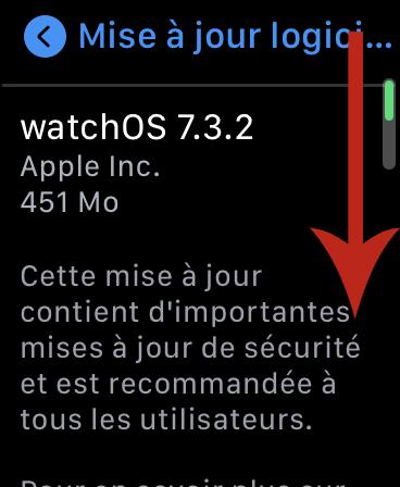 Comment Mettre à Jour son Apple Watch avec l'a seule montre 05