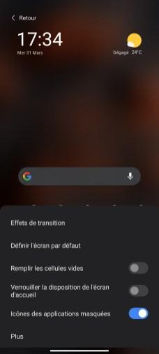 Interface Xiaomi Poco X3 Pro