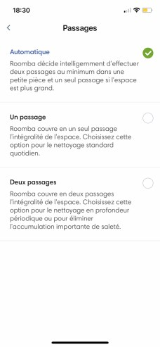 iRobot Roomba i3+ appli 09