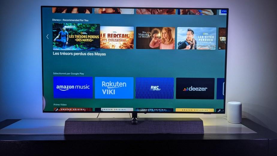Android TV 9 légèrement restylé