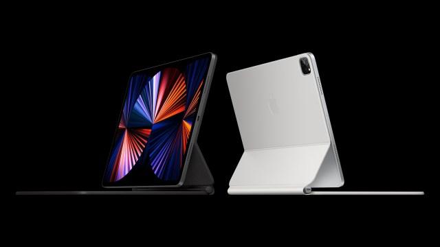 Ici l'iPad Pro2021, présenté la semaine dernière, et son Magic Keyboard//Source: Apple