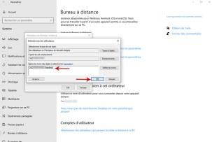 Autoriser la prise de contrôle à distance d'un PC sous Windows 10 010 bis