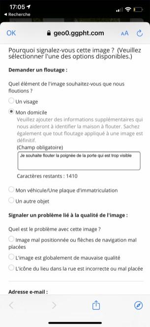 Comment flouter sa maison sur google street-view sur smartphone 05